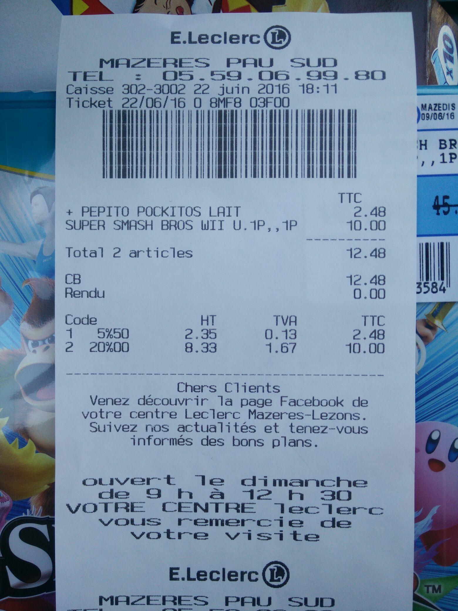 Super Smash Bros sur Wii U