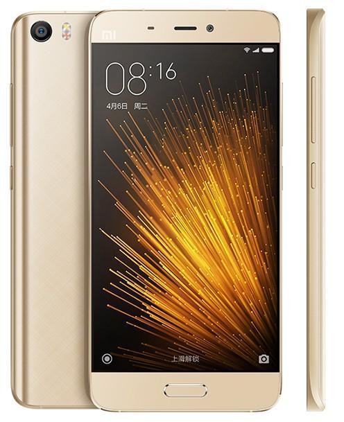 "Smartphone 5.15"" Xiaomi Mi5 32Go Gold (Double SIM, 3 Go de RAM, 32 Go)"