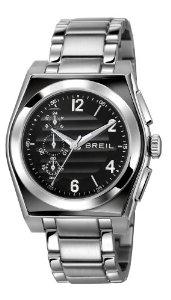 Montre homme Quartz Breil - Chronographe Bracelet acier
