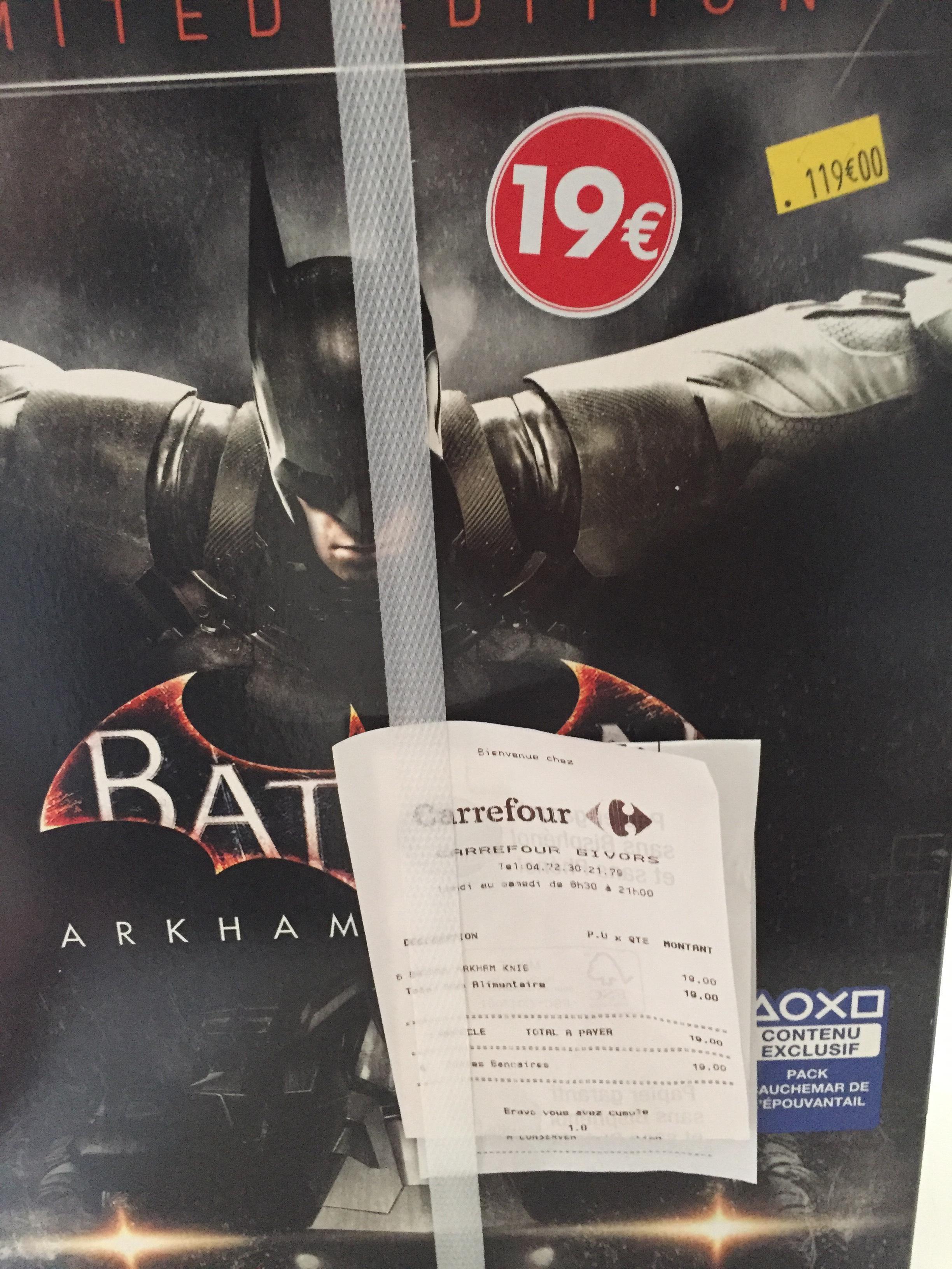 Jeu Batman arkham knight sur PS4 - Limited edition