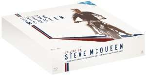 Coffret Blu-Ray Collection Steve McQueen - 4 films