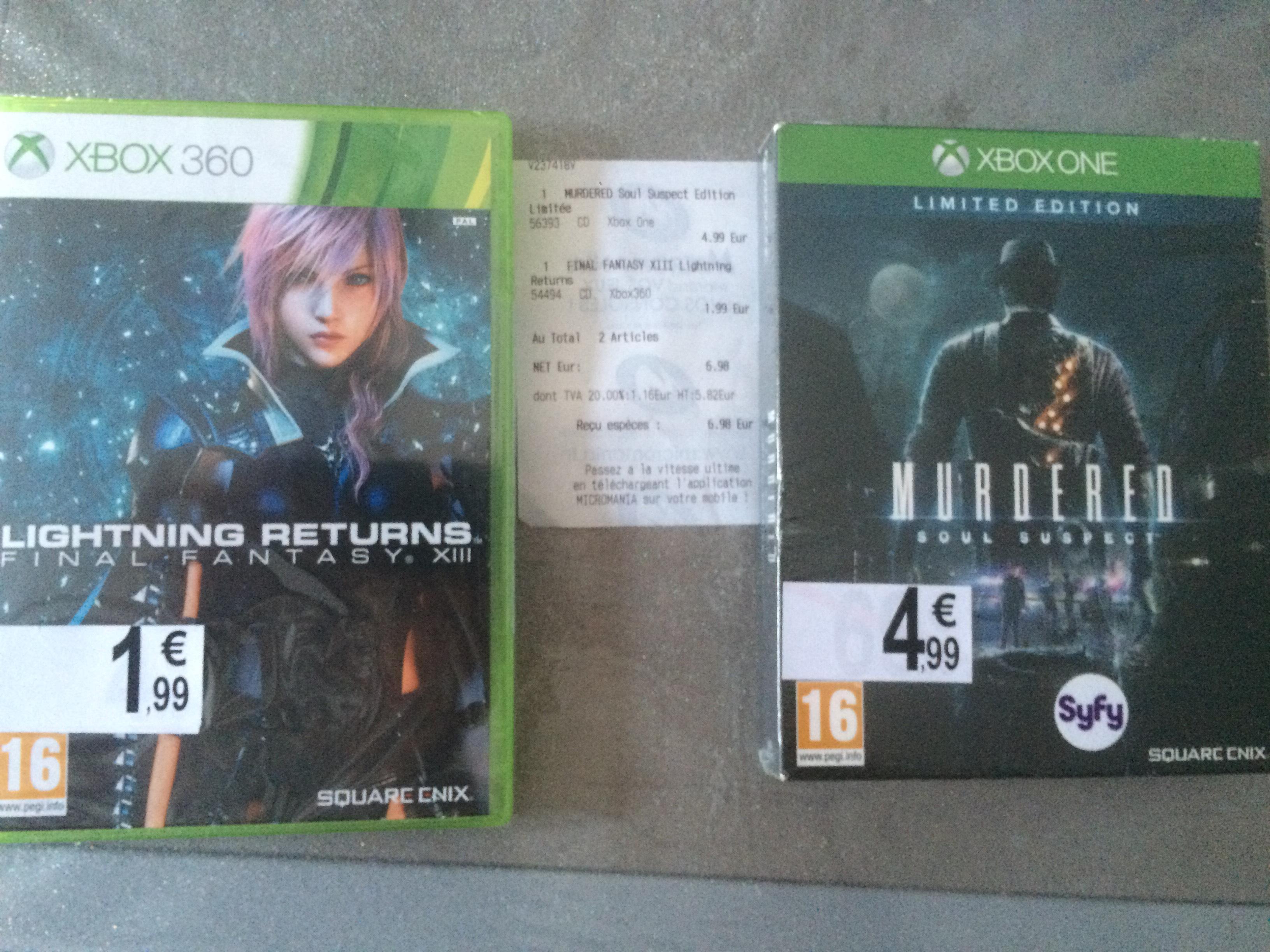 Murderer Soul Suspect Limited Edition sur Xbox One