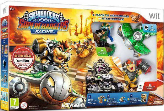 Pack de démarrage Skylanders Superchargers Racing sur Wii