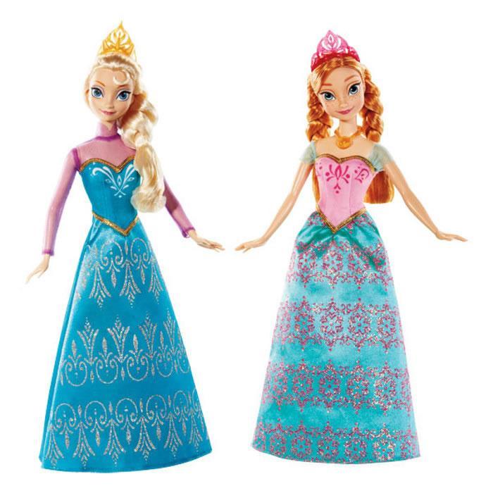 Coffret Poupées Matel la Reine des neiges - Anna et Elsa