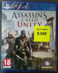Jeu Assassin's creed Unity sur PS4