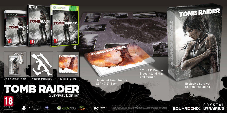 Tomb Raider Edition Collector Survival sur PS3
