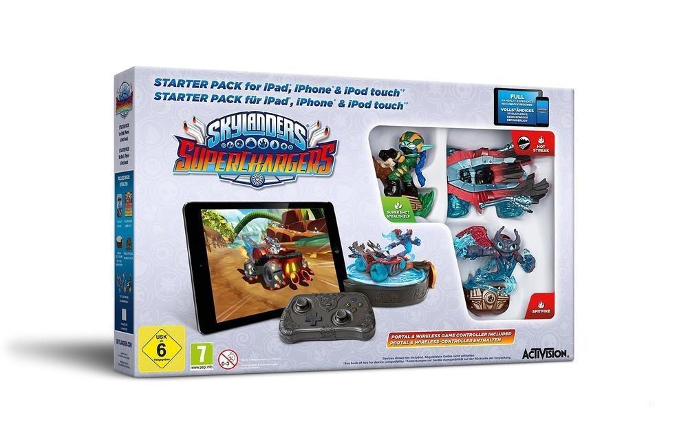 Pack de démarrage Skylanders Superchargers sur iPhone / iPad