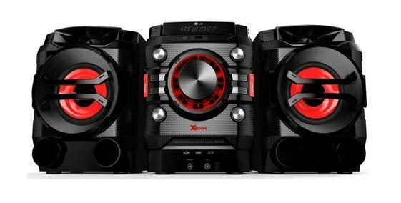 Chaîne HiFi LG CM4360 Bluetooth USB 230W - Radio FM - CD-R / CD-RW