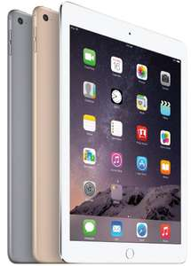 iPad Air 2 WiFi 128Go - Gris, Argent, Or