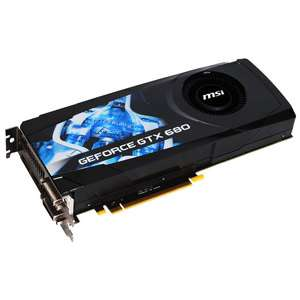 Carte graphique MSI N680GTX-PM2D2GD5 GeForce GTX 680 2 Go