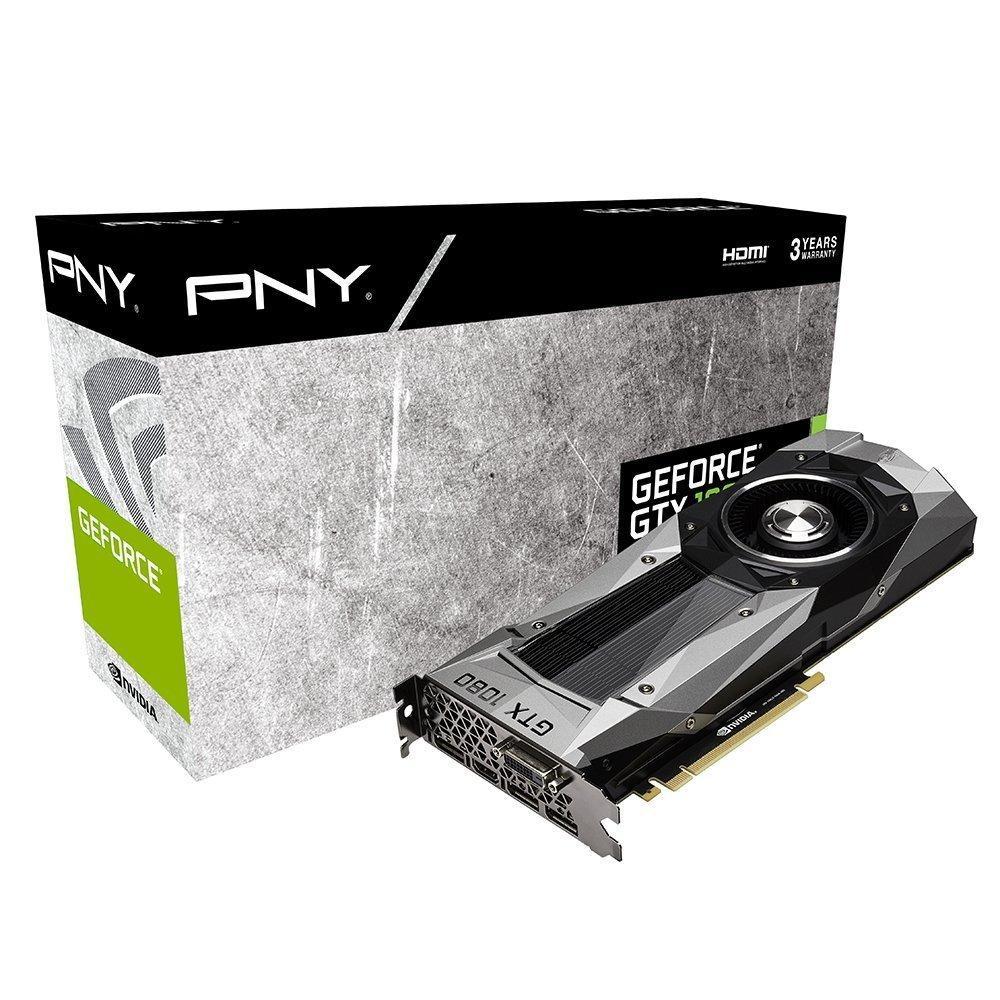 Carte graphique PNY GeForce GTX 1080 Founders Edition 8Go GDDR5X