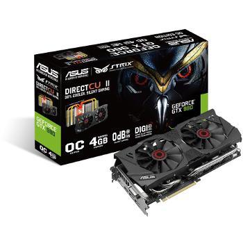 Carte graphique  Asus GeForce GTX 980 STRIX OC - 4 Go