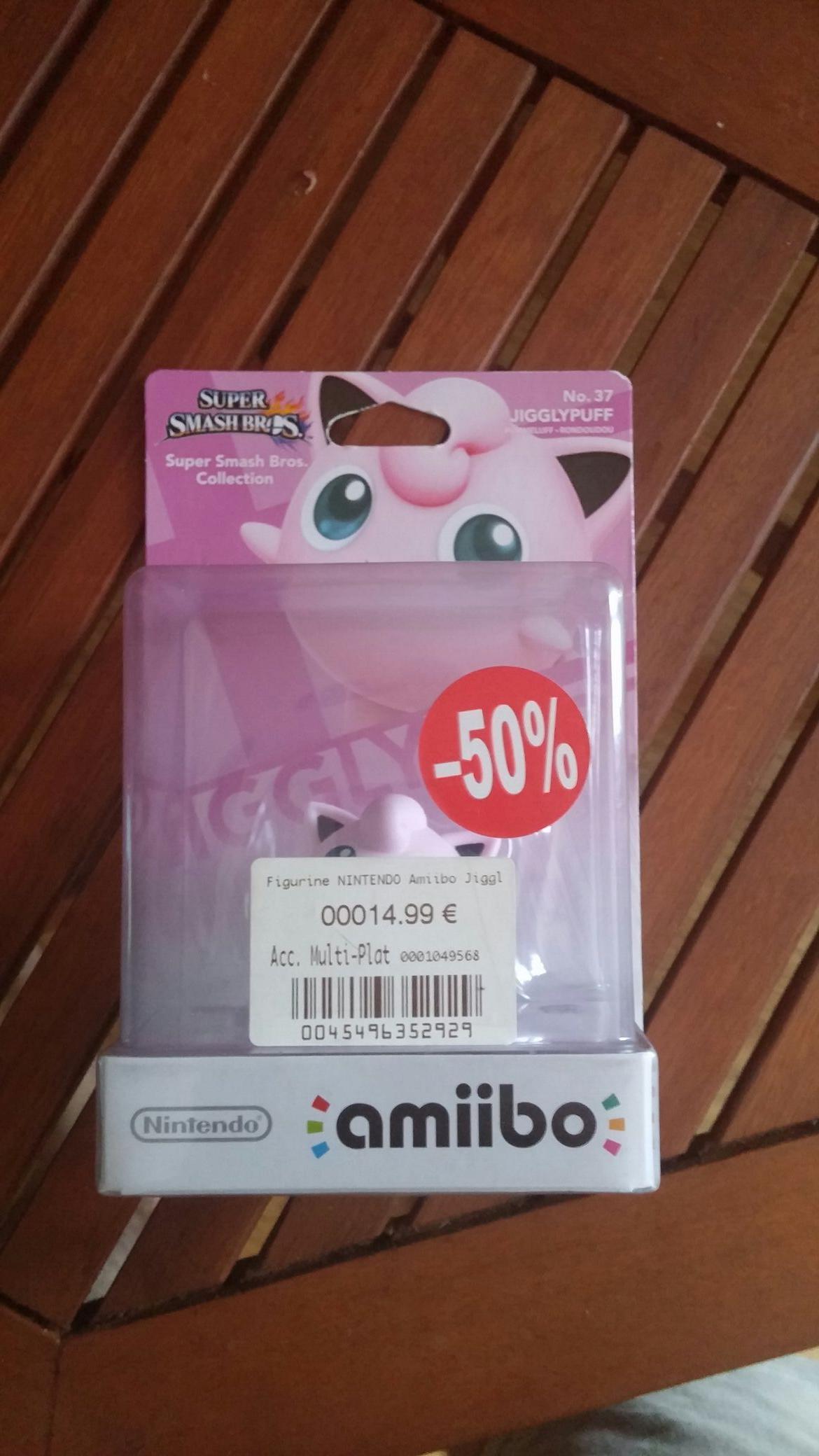 50% de réduction sur tous les Amiibo - Ex : Figurine Nintendo Amiibo Rondoudou