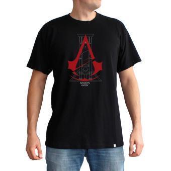 T-shirt Assassin's Creed Unity Guillotine Noir