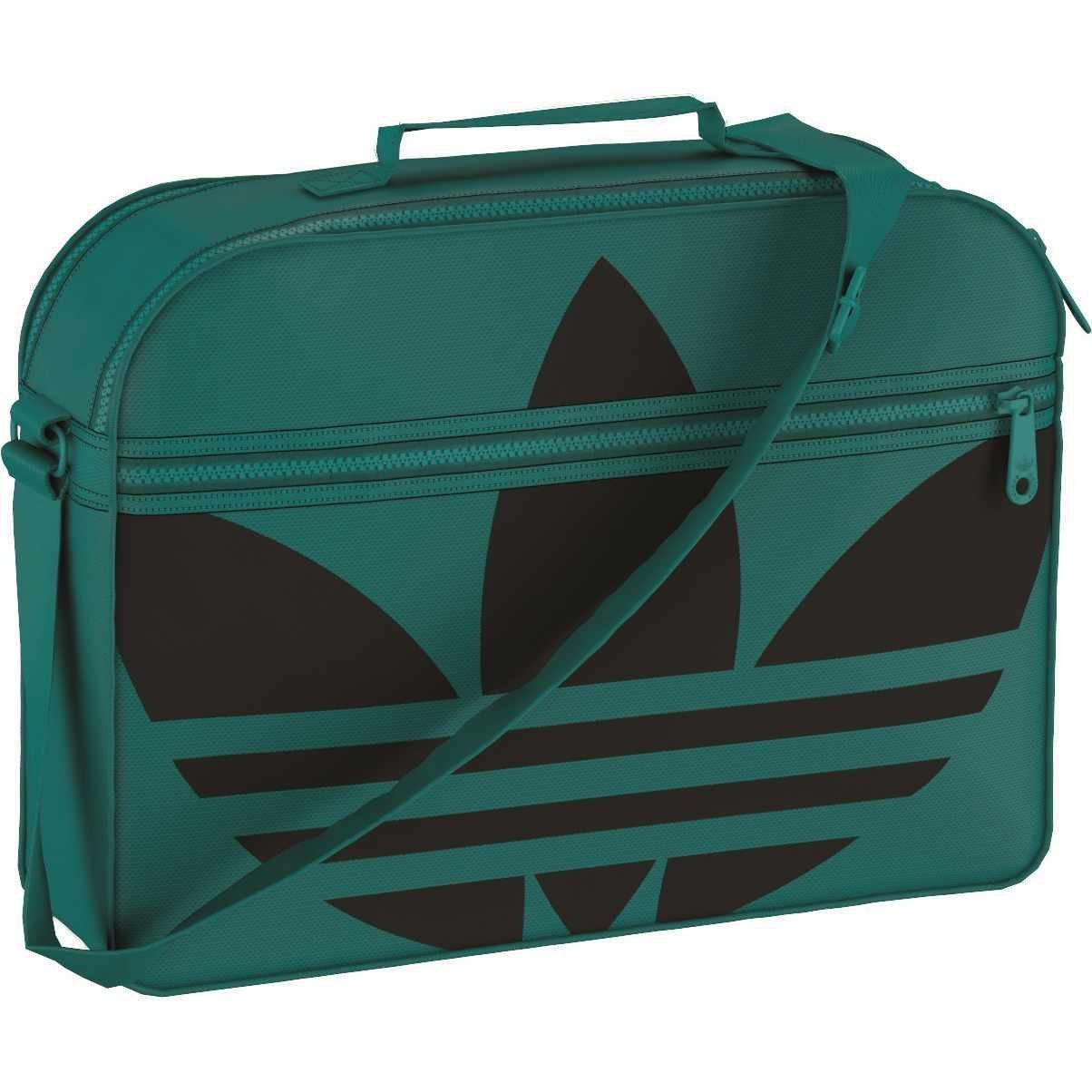 Sac à bandoulière Adidas Airliner Trèfle - Vert