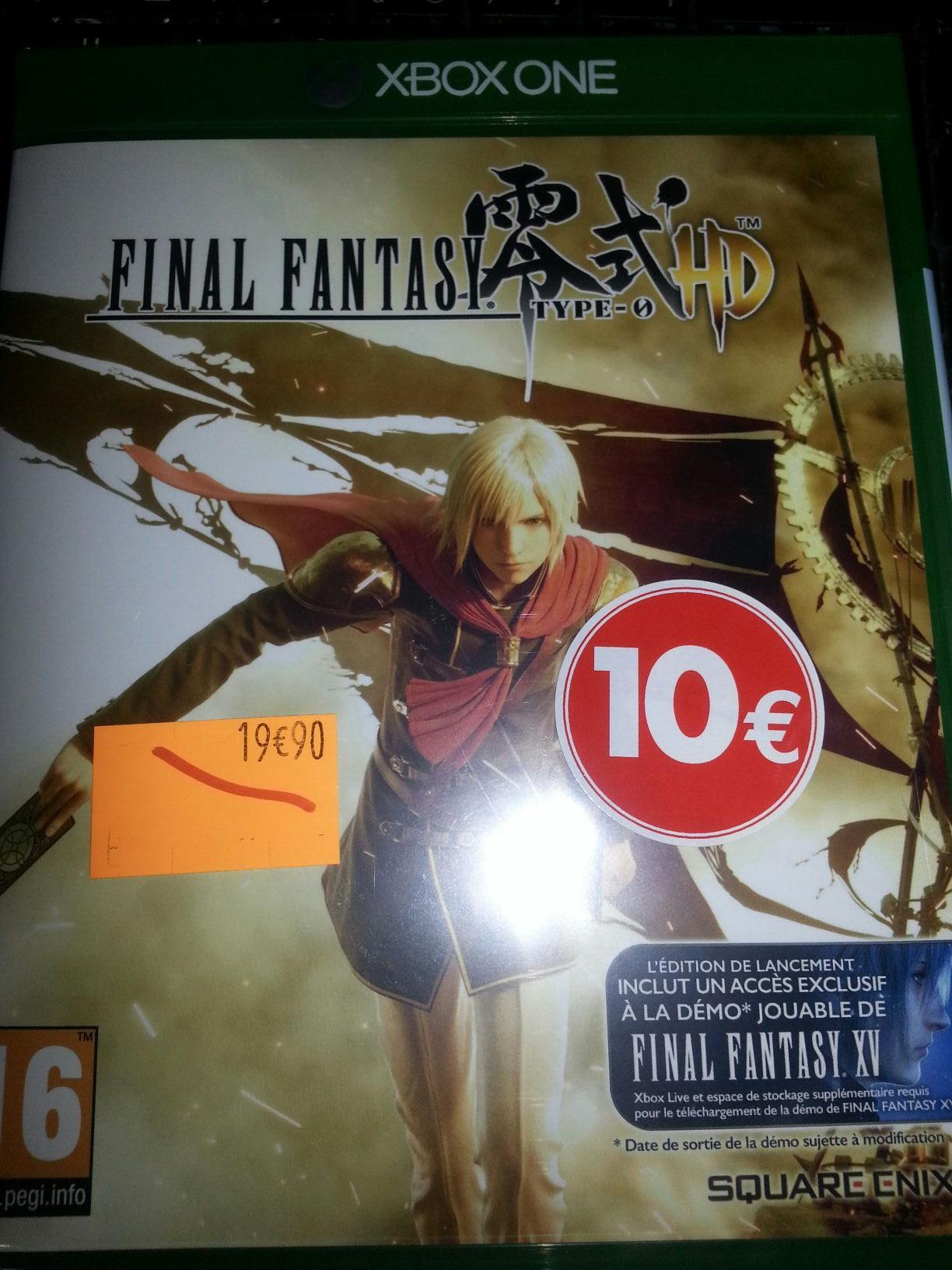Sélection de jeux video en promotion - Ex : Final Fantasy type-0 HD sur Xbox One