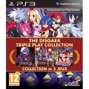 The Disgaea Triple Play Collection sur PS3