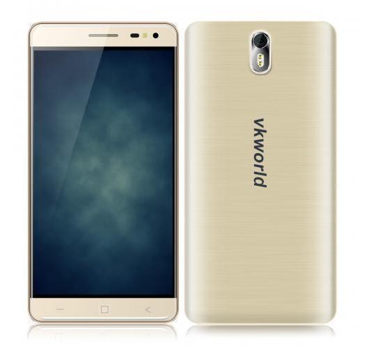 "Smartphone 5.5"" VKworld G1 Gold - 4G, Octa Core, RAM 3 Go, ROM 16 Go"