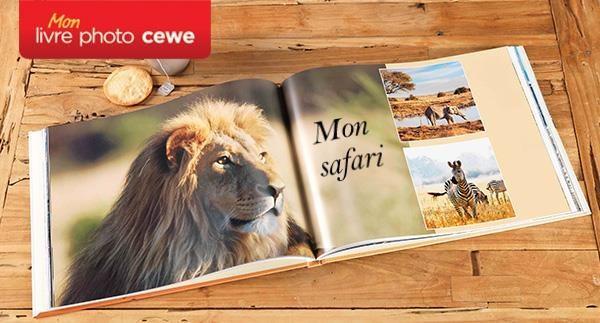 Livre Photo A4 Paysage/Panorama - 90 pages couverture rigide et papier satiné