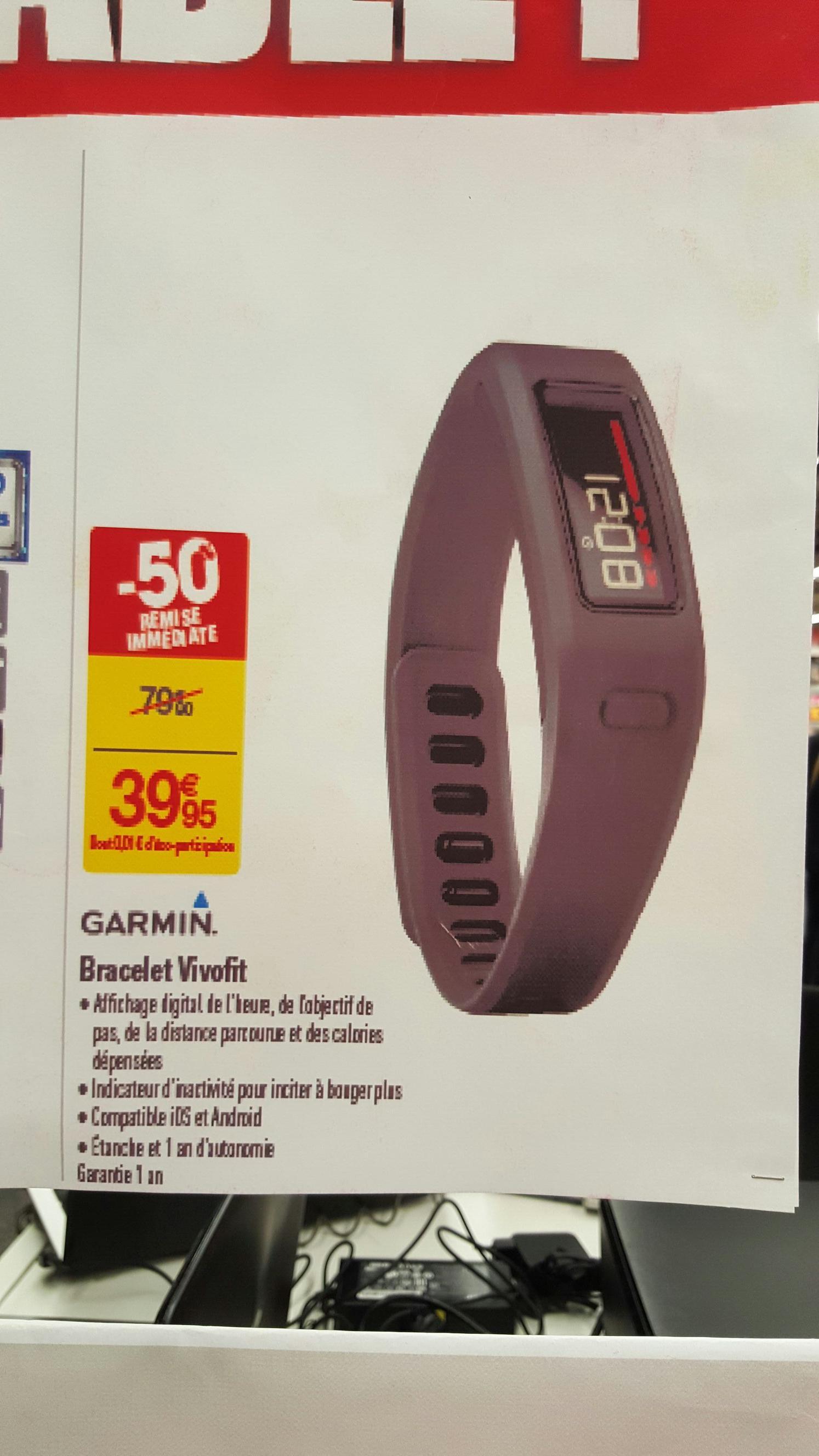 Bracelet Connecté Garmin Vivofit