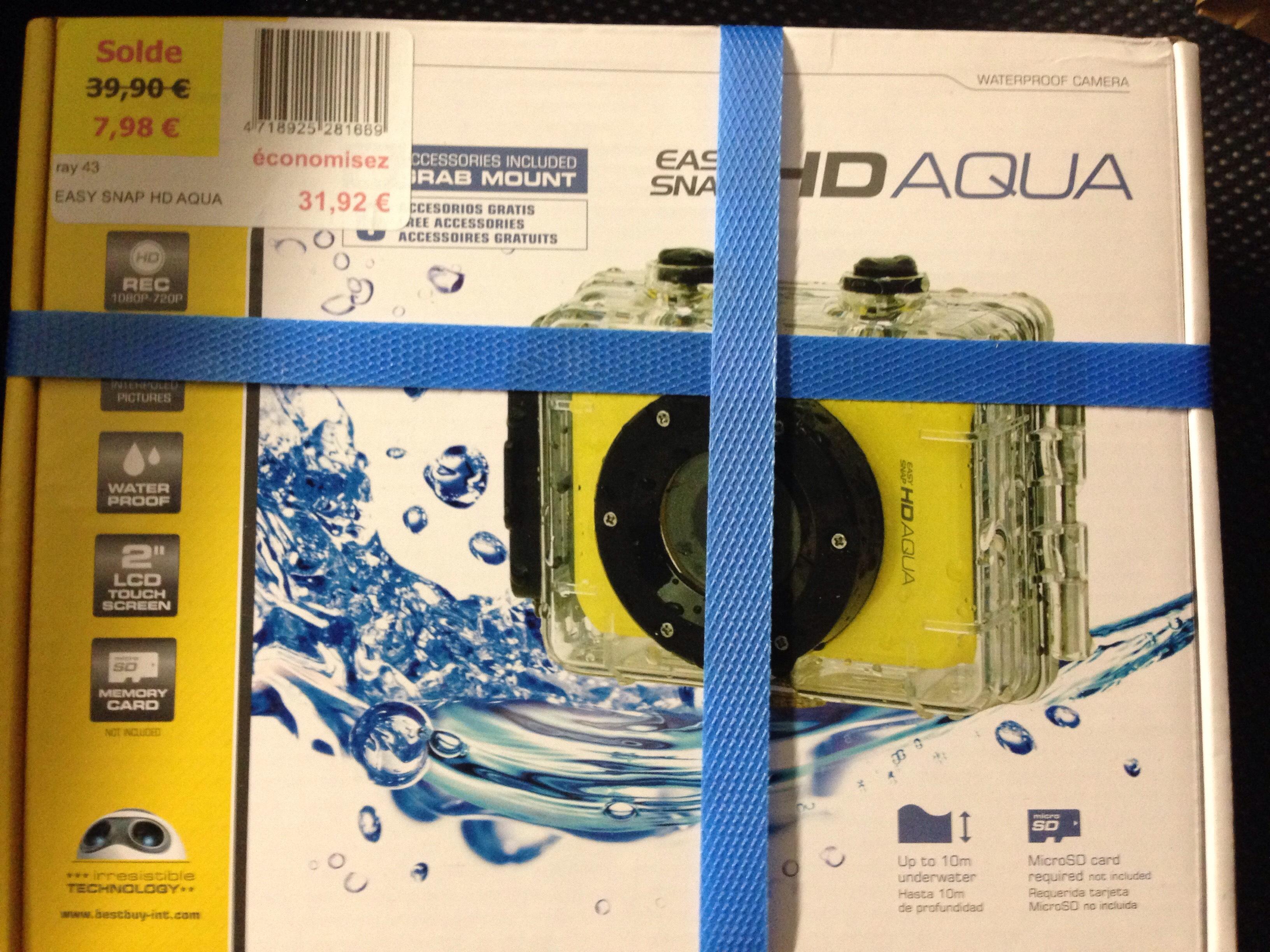 Caméra sportive Easysnap HD Aqua