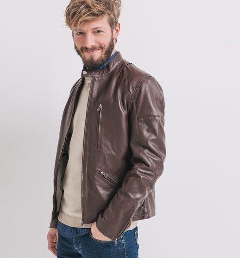 70% de réduction immédiate sur une sélection d'articles - Ex: Blouson en cuir pour Hommes
