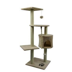 Arbre à chat Poils & Plumes  - 40 x 40 x 114 cm