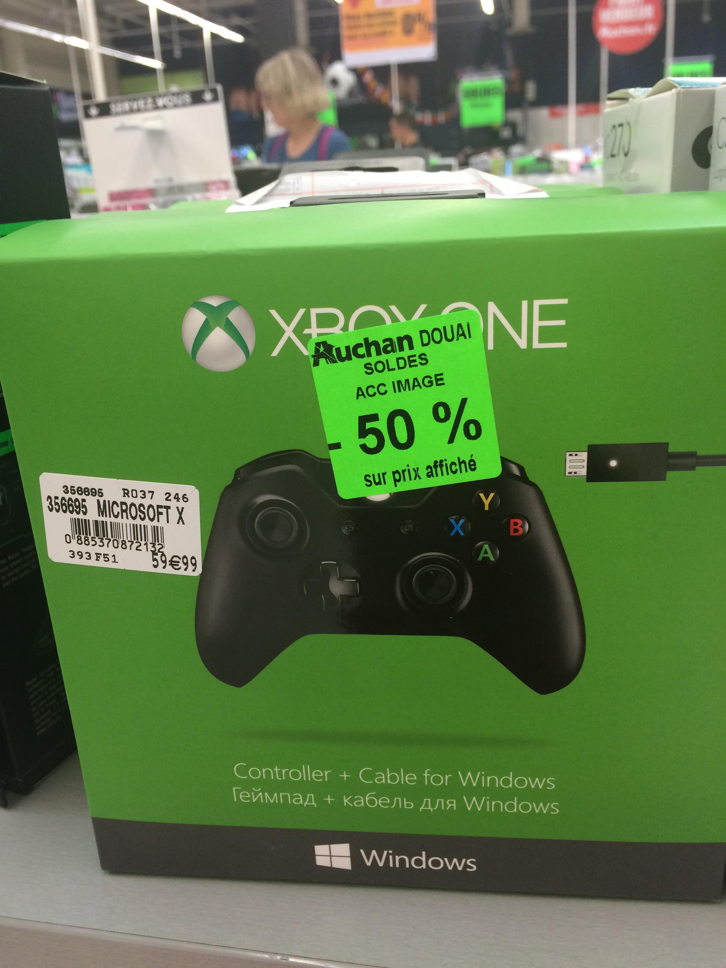 Manette Microsoft pour Xbox one et pc