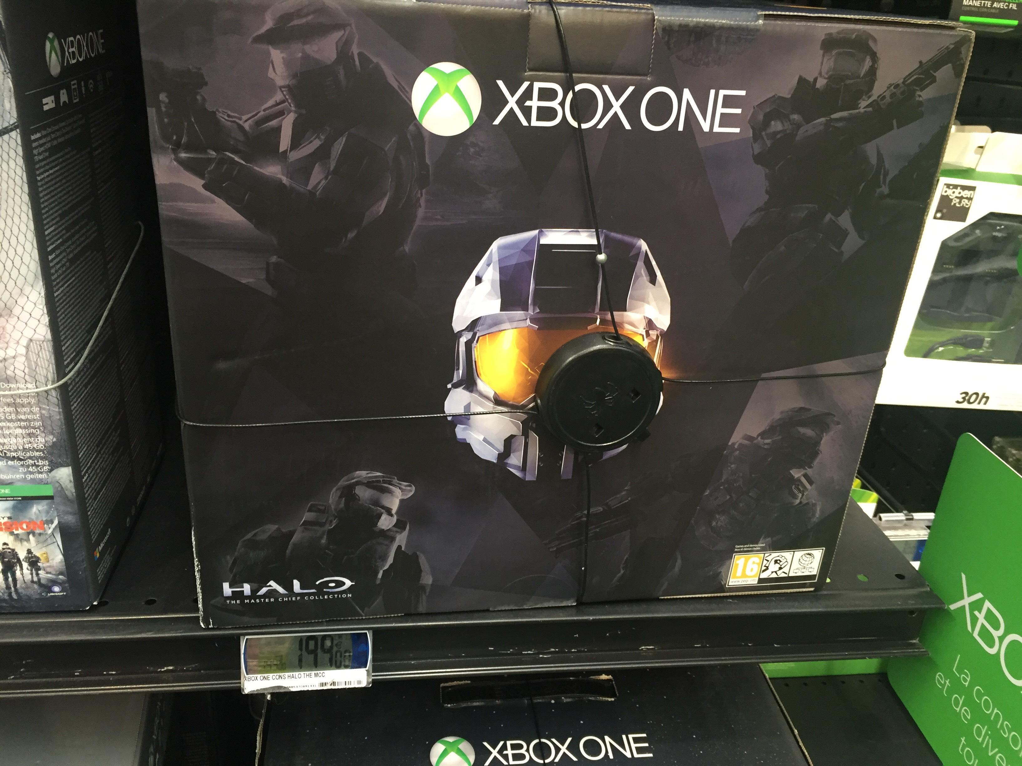 Xbox one 500go edition Halo Materchief