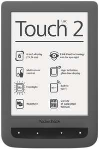 "Liseuse 6"" PocketBook Touch Lux 2"
