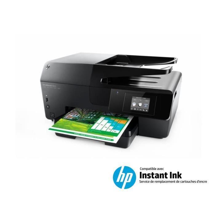 Imprimante multifonction HP Officejet Pro 6820 - Jet d'encre, Compatible Instant Ink