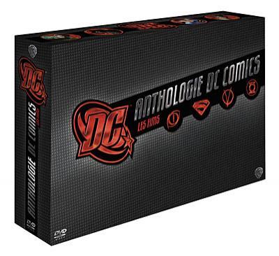Coffret 8 DVD DC Comics Anthologie - Les films (Édition Limitée)