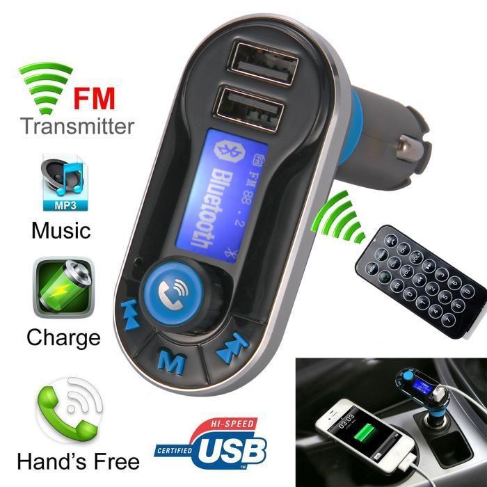 Transmetteur FM / Bluetooth Xsource MA323 pour smartphone