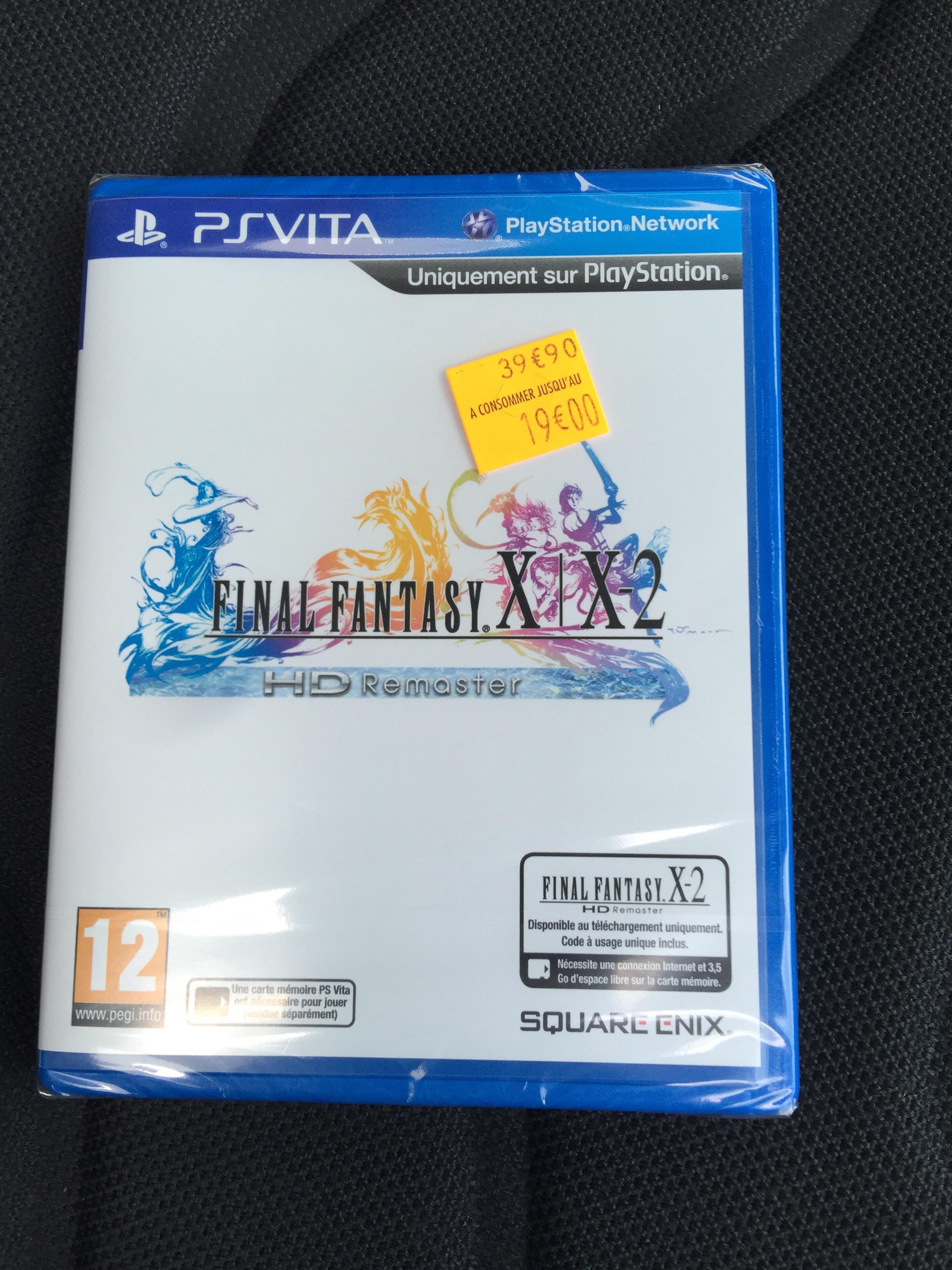 Final fantasy X-2 HD Remaster sur PSVita
