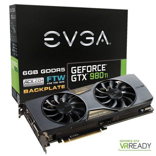 Carte graphique EVGA GeForce GTX 980 Ti FTW ACX 2.0+ - 6 Go