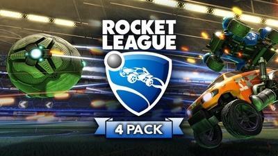 Rocket League 4-Pack sur PC (Dématérialisé - Steam)