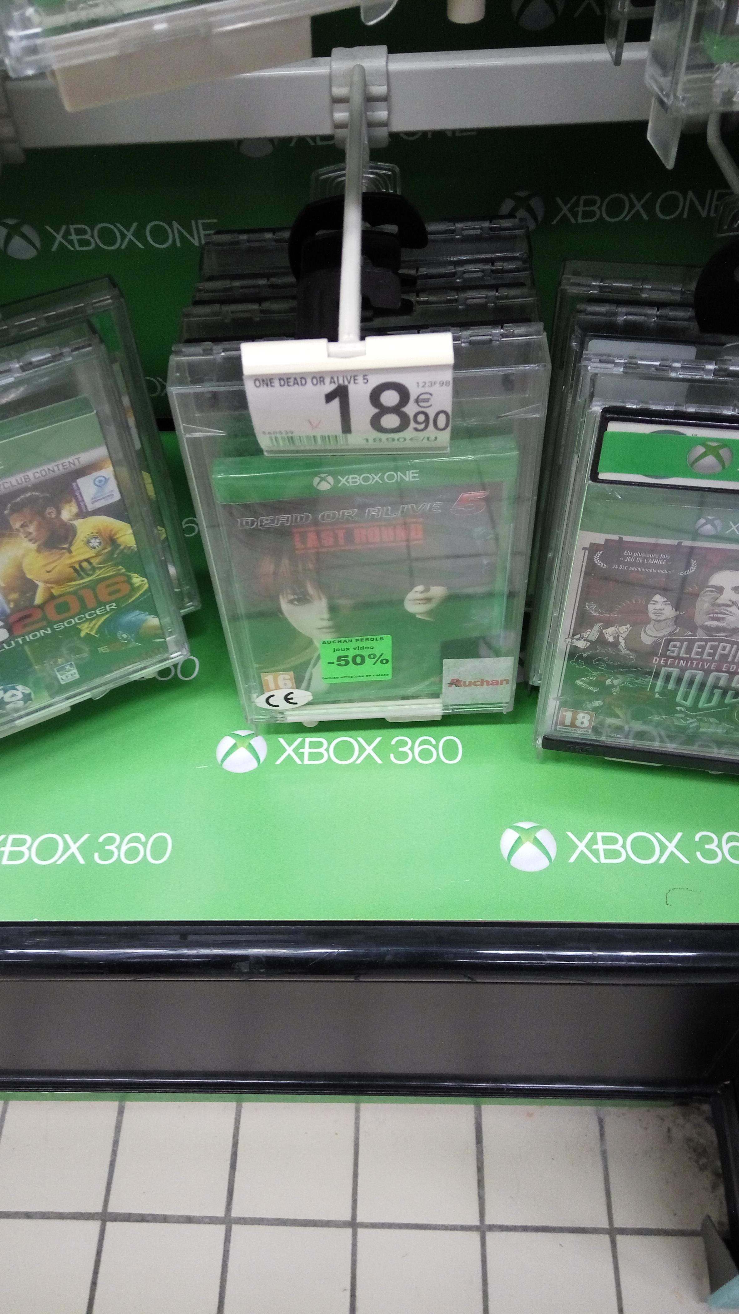Sélection de jeux en promotion - Ex : Dead or Alive Round 5 Last Round sur Xbox One