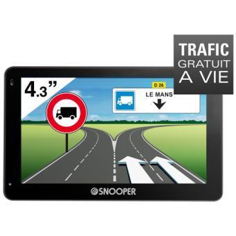 GPS Snooper PL2200 - Europe 46 pays, Poids Lourds + Info Trafic Gratuit à Vie