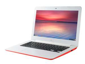 "PC Portable 13,3"" Asus Chromebook C300MA-RO055 Rouge - Intel Celeron, RAM 4Go, SSD 32Go, Chrome OS"