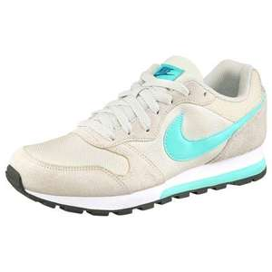 Baskets Nike MD Runner 2 Wmns pour Femmes - Beige / Turquoise