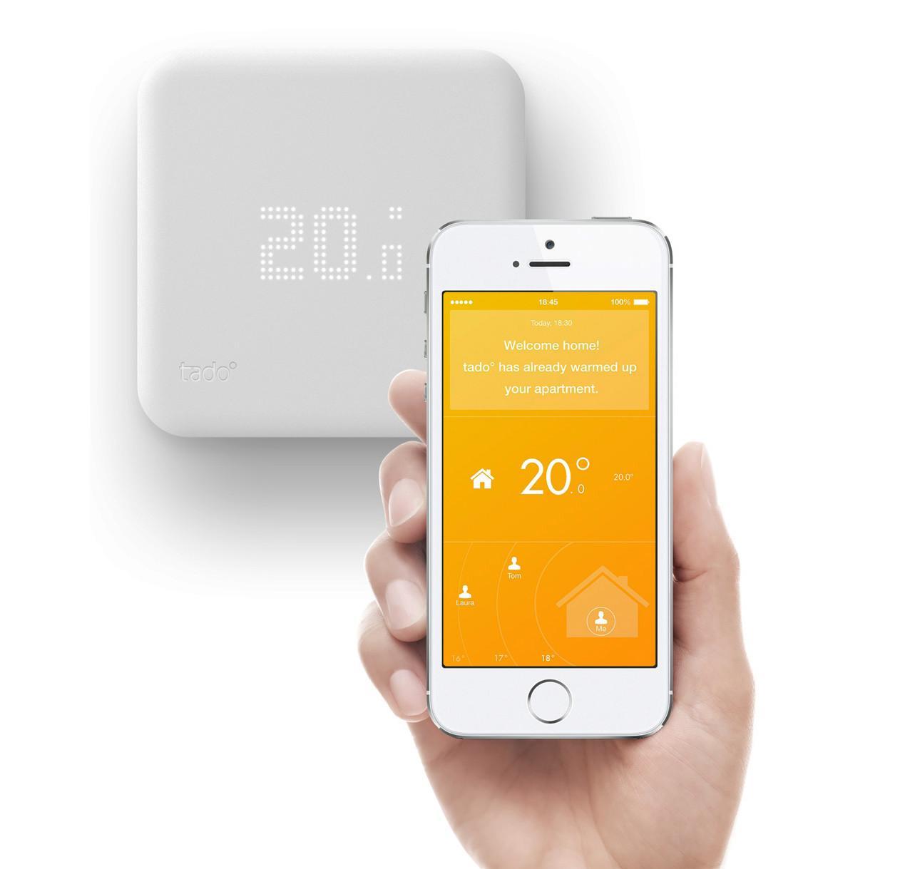 Thermostat intelligent connecté Tado