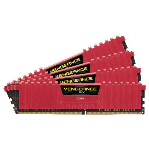 Kit mémoire RAM Corsair Vengeance LPX 16 Go (4 x 4 Go) DDR4 Cas 16 - 2800 MHz