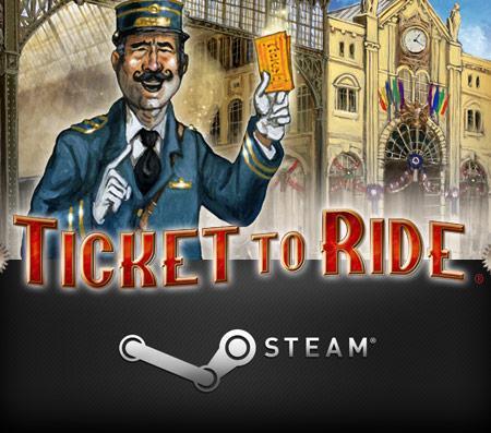 Sélection de jeux Days Of Wonder (Steam, Android, App Store) en promotion - Ex : Ticket to Ride sur Steam