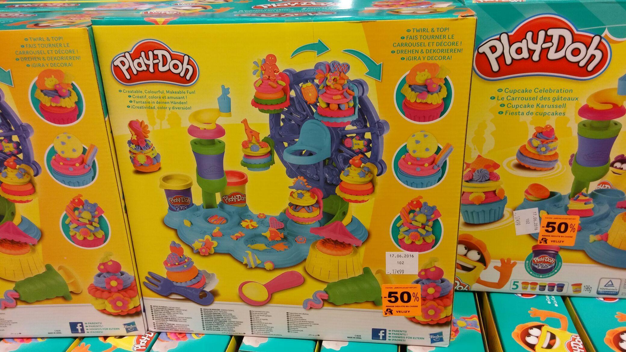 Sélection de jouets en promotions - Ex : pâte à modeler Play-Doh Cupcake Celebration Playset