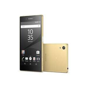 "Smarphone 5.2"" full HD Sony Xperia Z5 (Dual SIM) - Or (via 100€ d'ODR)"