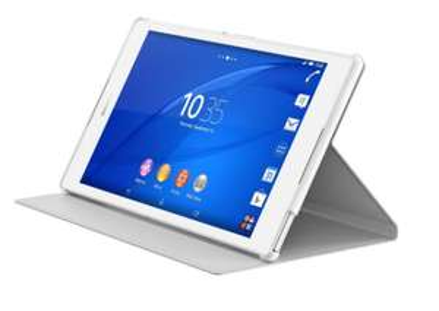 Etui Cover Sony SCR28 pour Sony Xperia Z3 Tablet (blanc)