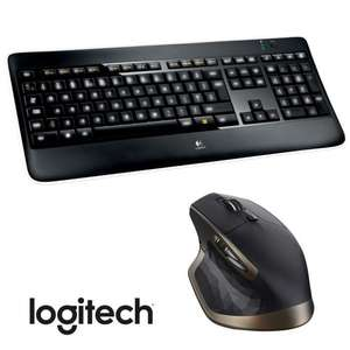 Pack Logitech : Souris MX Master + Clavier Illuminated K800