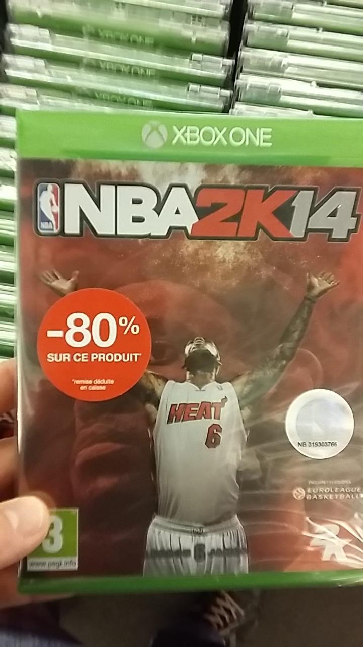 Sélection de jeux Xbox One en promotion - Ex : NBA 2K14