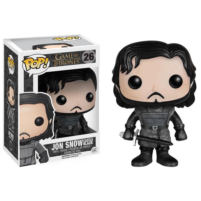Sélection de Figurines et T-shirts en promotion - Ex : Figurine POP! Castle Black Jon Snow