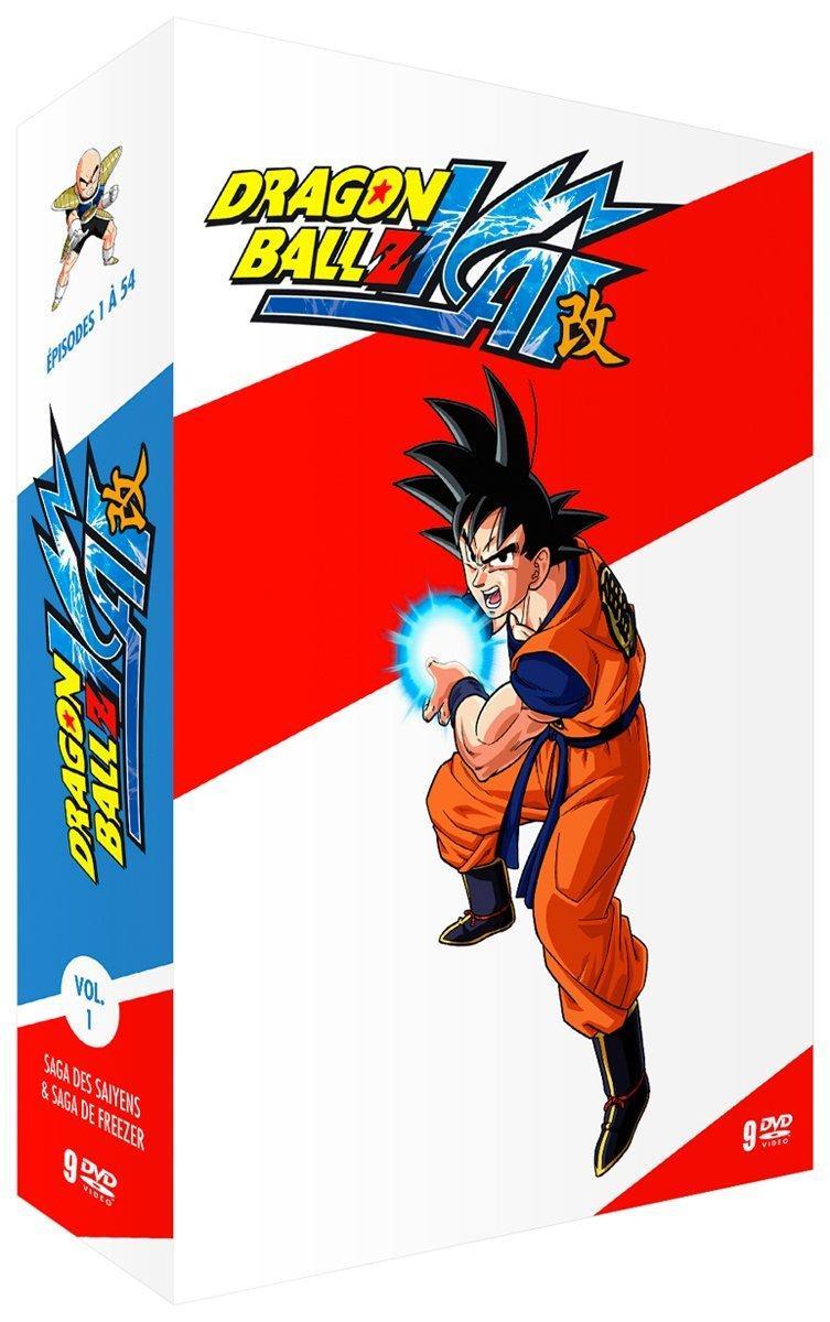 Coffret DVD Dragon Ball Z Kai - Partie 1